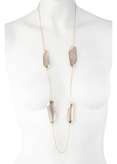 Alexis Bittar Essentials Lucite® Station Necklace