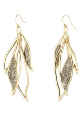Alexis Bittar Feather Wire Earrings