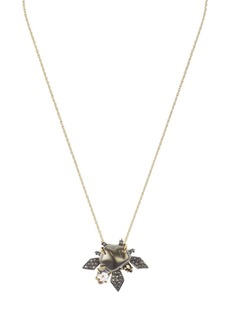 Alexis Bittar Floral Cluster Necklace, 16""
