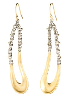 Alexis Bittar Freeform Crystal Encrusted Drop Earrings