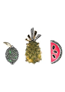 Alexis Bittar Fruity Pin Set