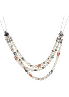 Alexis Bittar Future Antiquity Byzantine Stone Cluster Beaded Necklace