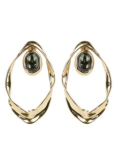 Alexis Bittar Future Antiquity Crumpled Orbit Earrings