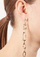 Alexis Bittar Future Antiquity Long Chain Drop Earrings