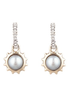 Alexis Bittar Georgian Mabé Pearl Drop Earrings