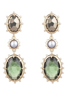 Alexis Bittar Georgian Multi Stone Drop Earrings