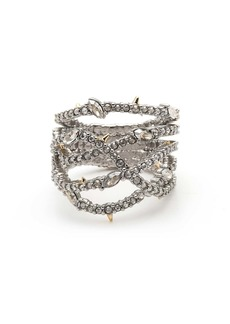 Alexis Bittar Georgian Pavé Orbit Ring