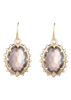 Alexis Bittar Georgian Stone Drop Earrings