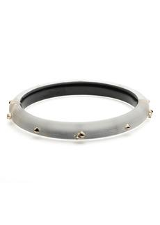 Alexis Bittar Golden Stud Hinge Bracelet