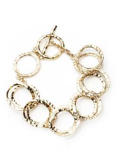 Alexis Bittar Hammered Coil Link Bracelet