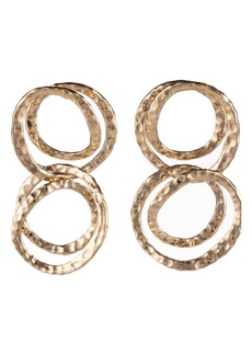 Alexis Bittar Hammered Coil Link Drop Earrings