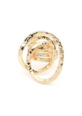 Alexis Bittar Hammered Coil Link Ring