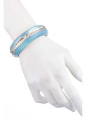 Alexis Bittar Hammered Inlay Hinge Bracelet