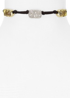 """Alexis Bittar Knotted Station Choker Necklace, 13"""" - 100% Exclusive"""