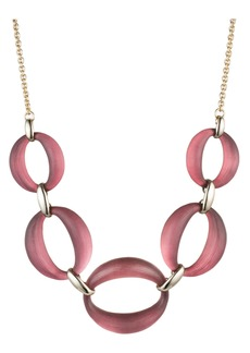 Alexis Bittar Large Link Lucite® Necklace