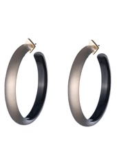 Alexis Bittar Large Lucite® Hoop Earrings