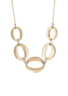 Alexis Bittar Large Oval Link Necklace