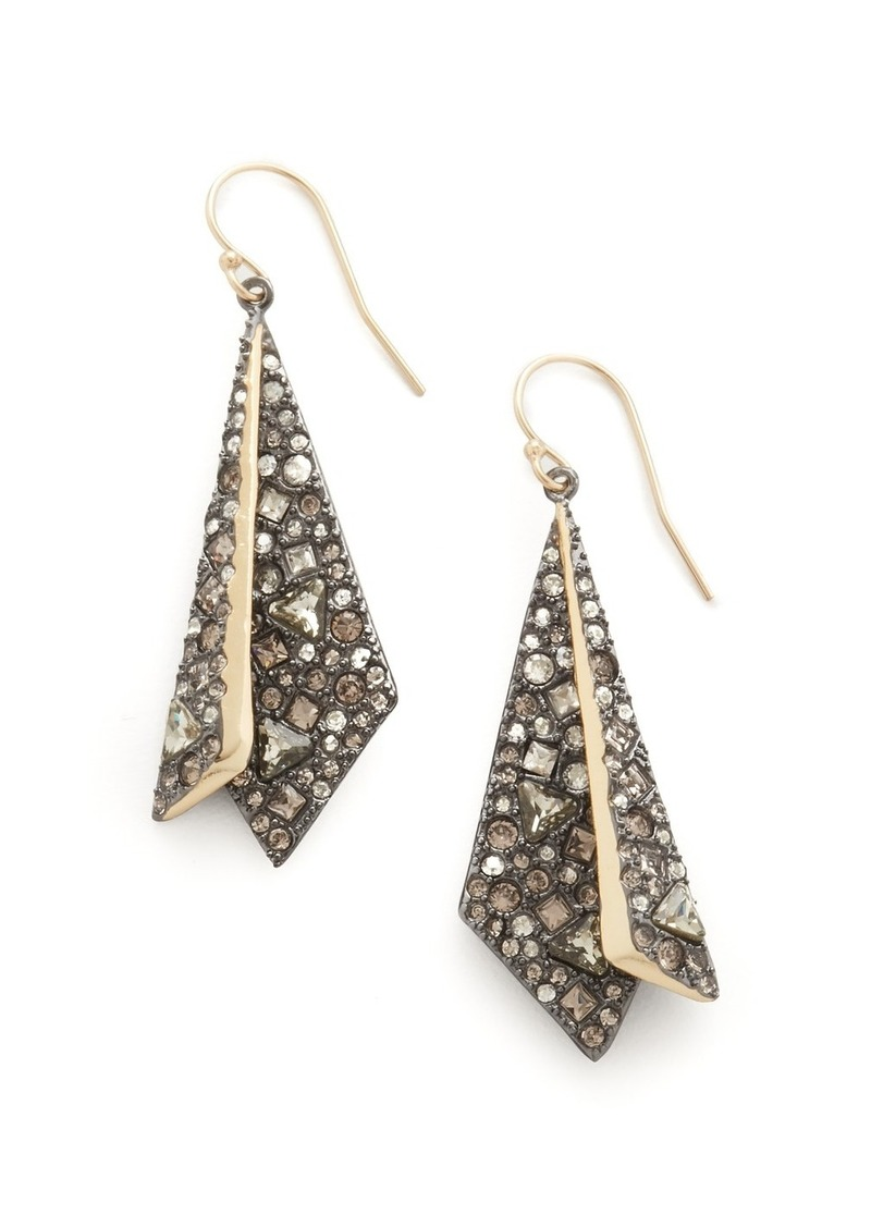 Alexis Bittar Layered Origami Earrings