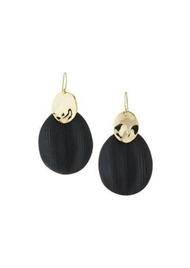 Alexis Bittar Liquid Chip Wire Lucite Earrings