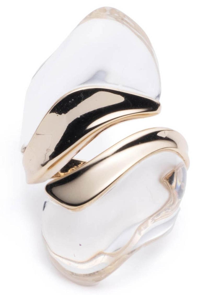 Alexis Bittar Liquid Lucite® Sculptural Ring