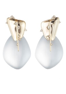 Alexis Bittar Liquid Metal Clip-On Earrings