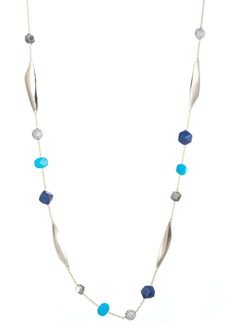 Alexis Bittar Long Beaded Necklace, 43""