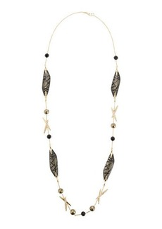Alexis Bittar Long Futurist Station Necklace