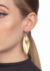 Alexis Bittar Long Leaf Earrings
