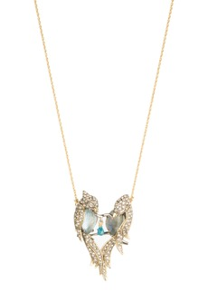 Alexis Bittar Lovebird Pendant Necklace