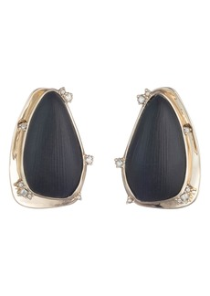 Alexis Bittar Lucite® & Crystal Clip Earrings