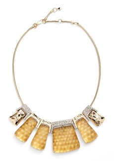 Alexis Bittar Lucite® Crystal Accent Crystal Collar Necklace