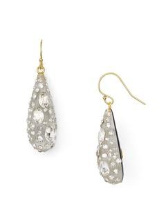 Alexis Bittar Lucite Crystal Dust Dewdrop Earrings