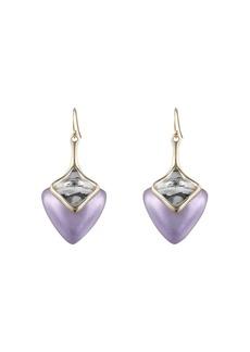 Alexis Bittar Lucite Detail Drop Earrings