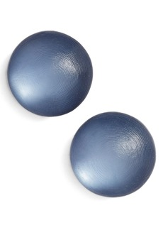 Alexis Bittar Lucite® Medium Dome Clip Earrings