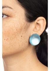 Alexis Bittar Lucite® Medium Dome Clip Earrings