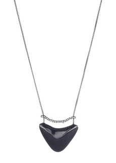 Alexis Bittar Lucite Pendant Necklace
