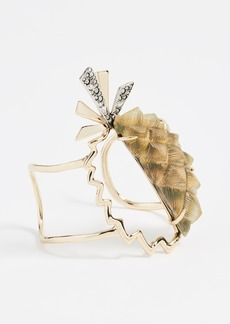 Alexis Bittar Lucite Pineapple Cuff