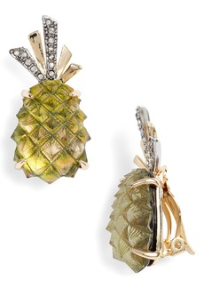 Alexis Bittar Lucite® Pineapple Earrings