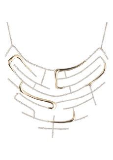 Alexis Bittar Maze Bib Necklace