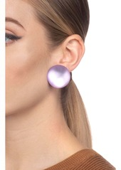 Alexis Bittar Medium Dome Clip Earrings