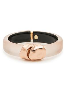 Alexis Bittar Metal Lucite® Hinge Bracelet