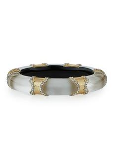 Alexis Bittar Metal Pavé Lucite Bracelet