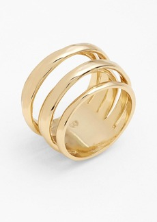 Alexis Bittar 'Miss Havisham - Kinetic Gold' Stack Ring