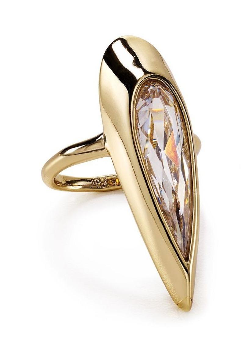 Alexis Bittar Miss Havisham Teardrop Cocktail Ring