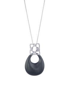 Alexis Bittar Modern Georgian Checkerboard Lucite® Pendant Necklace