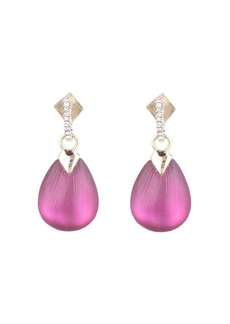 Alexis Bittar Modern Georgian Crystal Teardrop Earrings