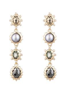 Alexis Bittar Modern Georgian Linear Drop Earrings
