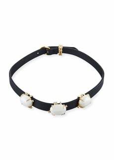 Alexis Bittar Multi-Station Leather Bracelet