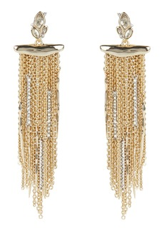 Alexis Bittar Navette Chain Drop Earrings