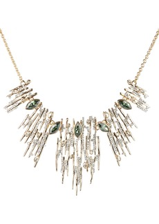 Alexis Bittar Navette Crystal Bib Necklace
